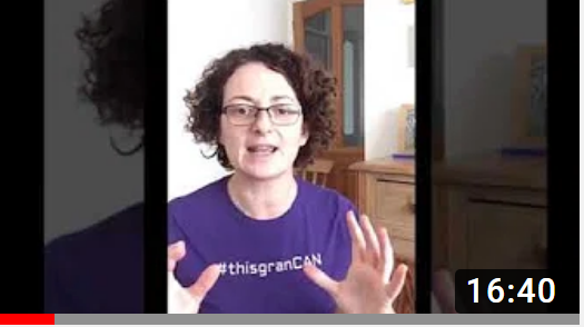 Yesterday's 'Make Movement your Mission' live videos from the experts at Later Life Training